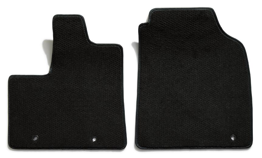 Premier Plush Custom Floor Mats: 1992-97 GEO TRACKER (Black